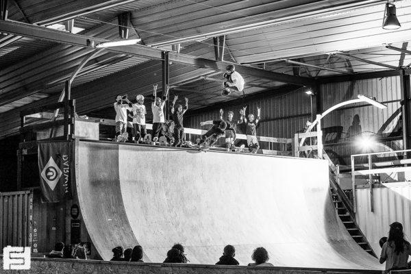 Méga rampe skatepark bordeaux