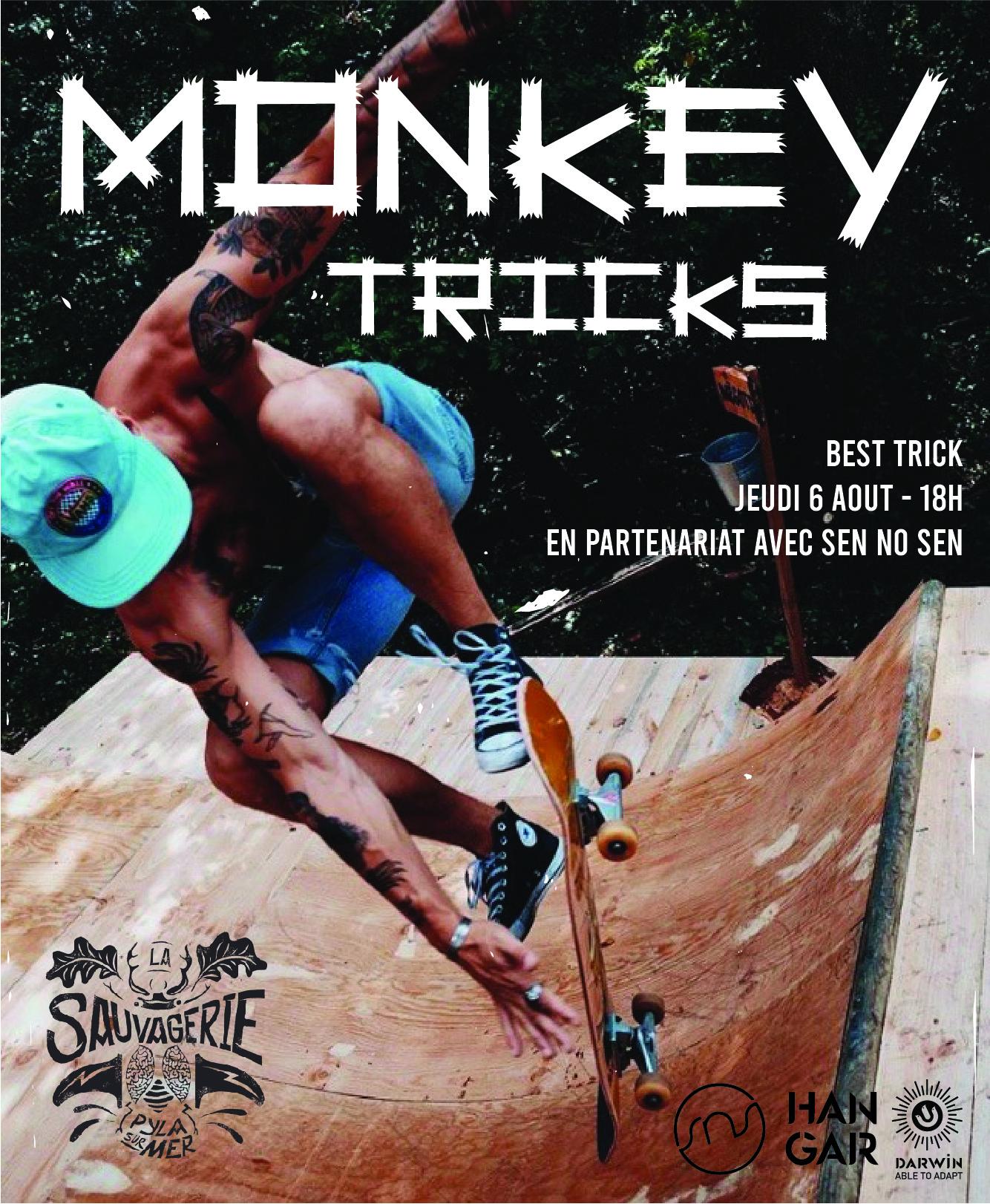 Monkey Tricks contest