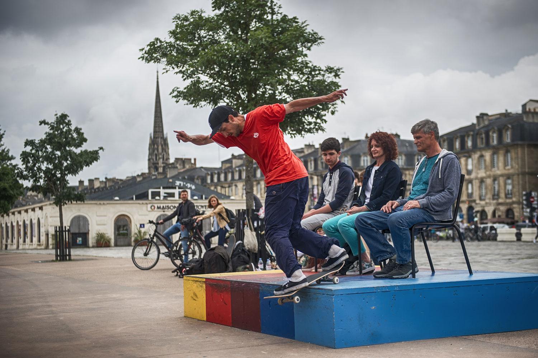 Bordeaux, une scène emblématique du skate
